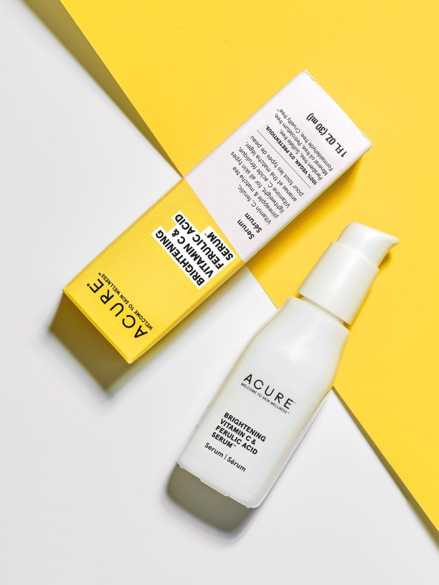 the packaging and bottle of the serum