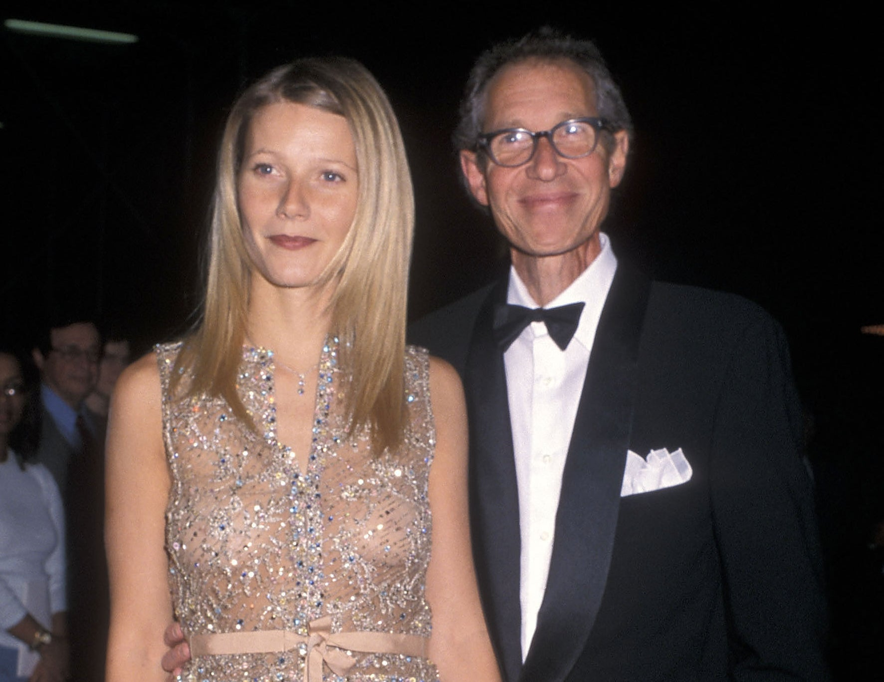 Gwyneth and her father before his passing