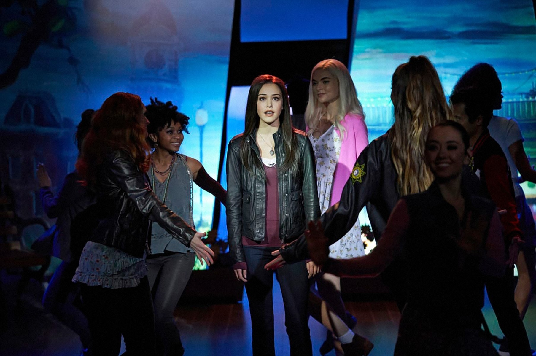 """Kaylee Bryant and Jenny Boyd in """"Salvatore: The Musical!"""""""