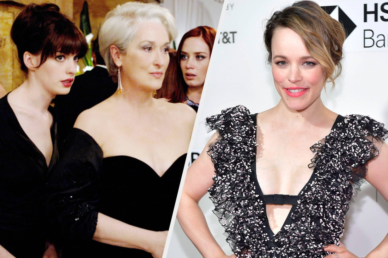 """The Studio Behind """"The Devil Wears Prada"""" Really Wanted Rachel McAdams To Star In The Film But..."""