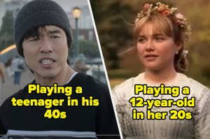 Randall Park in Always Be My Baby labeled