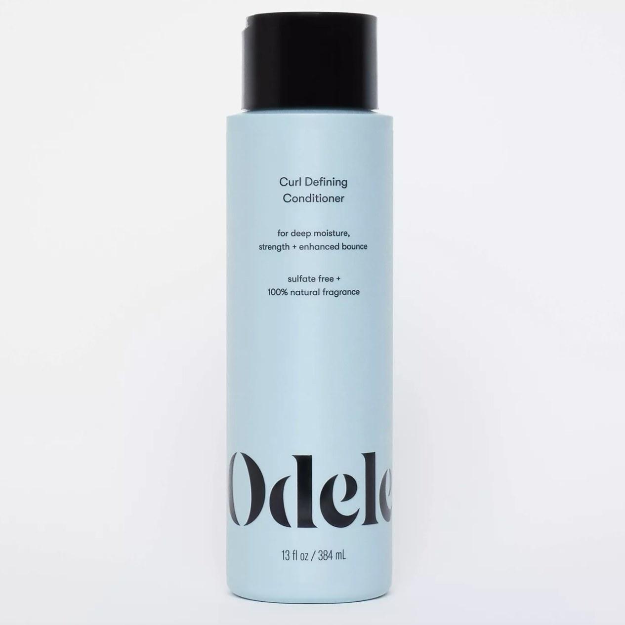 bottle of Odele conditioner
