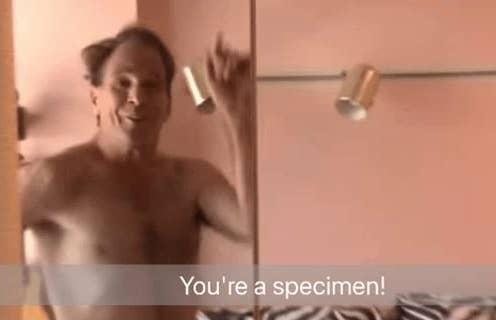 You're a specimen Mark Shoemaker