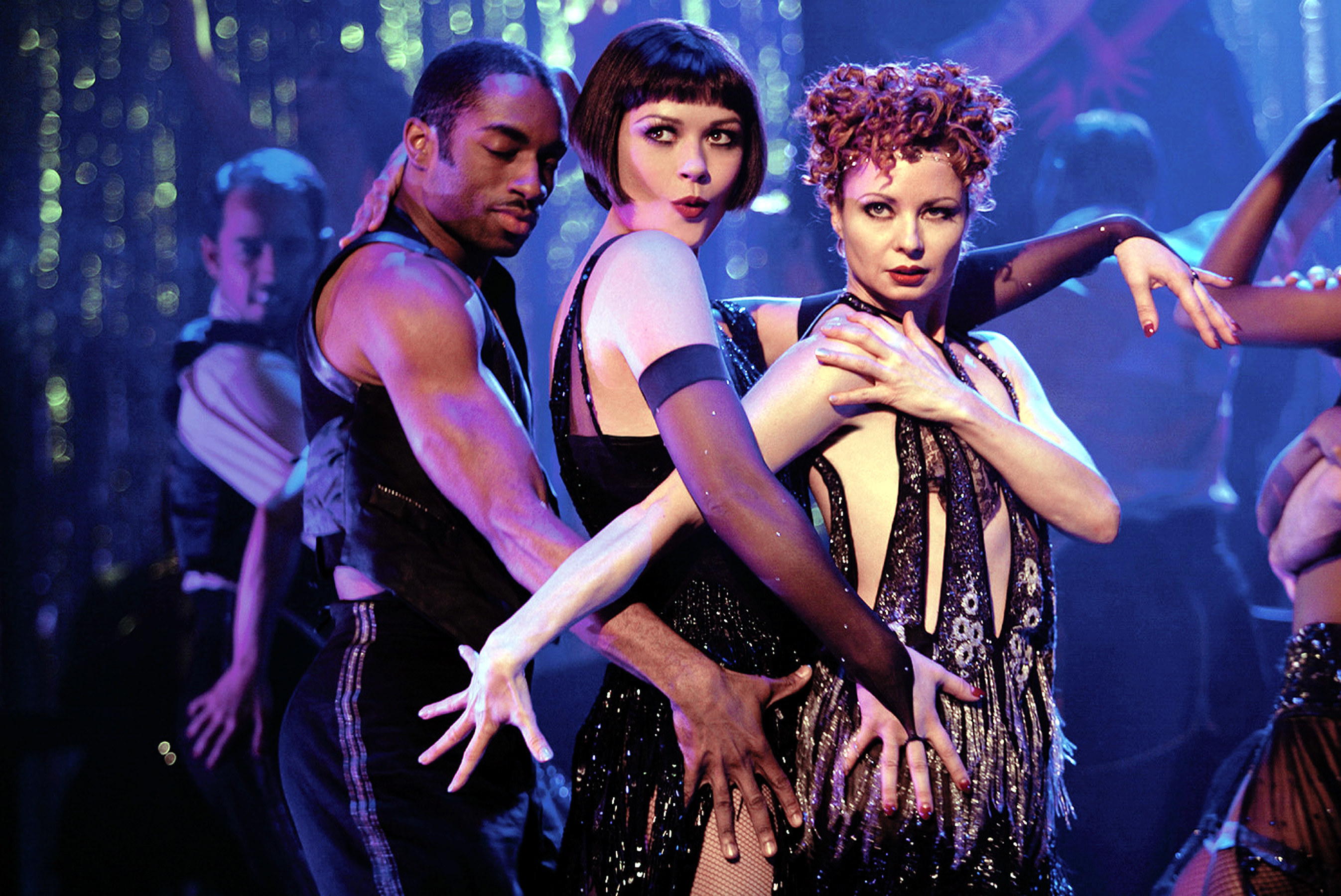 """Catherine Zeta-Jones dancing in a """"Chicago"""" number"""
