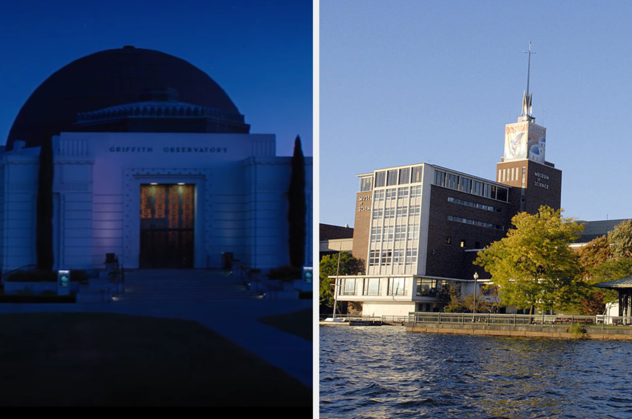 The Griffith Observatory and the Boston Museum of Science