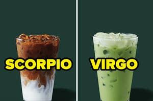scorpio and virgo lattes