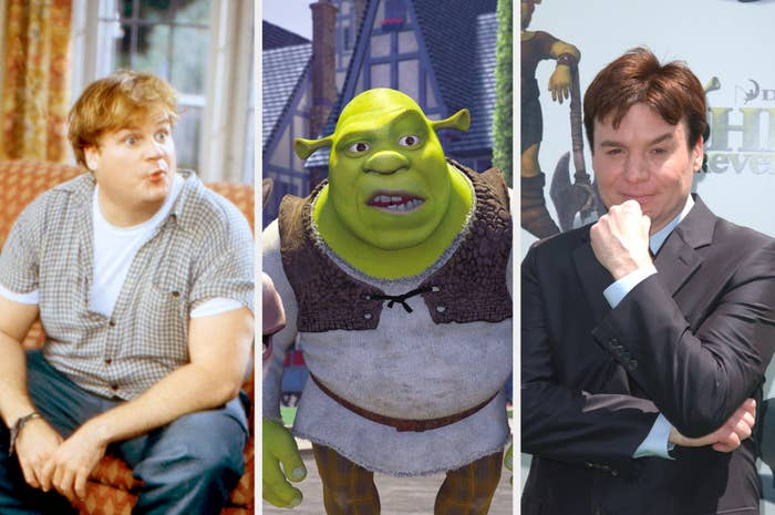 Chris Farley, Shrek, and Mike Meyers