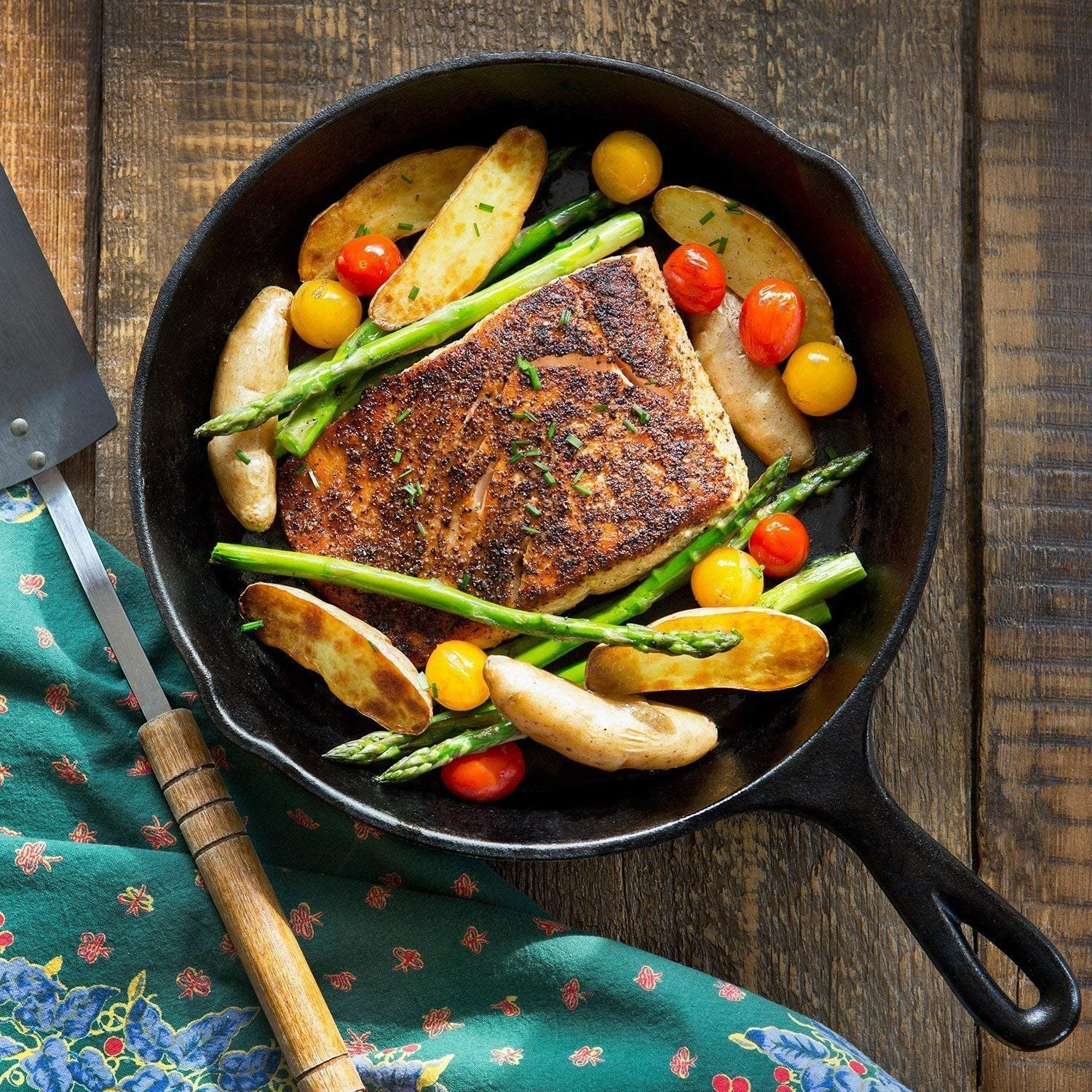 The cast iron skillet