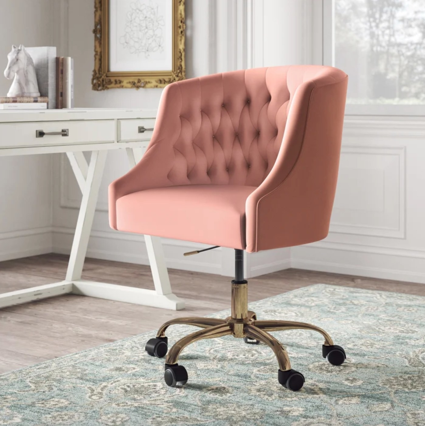 the Kelly Clarkson task chair in pink