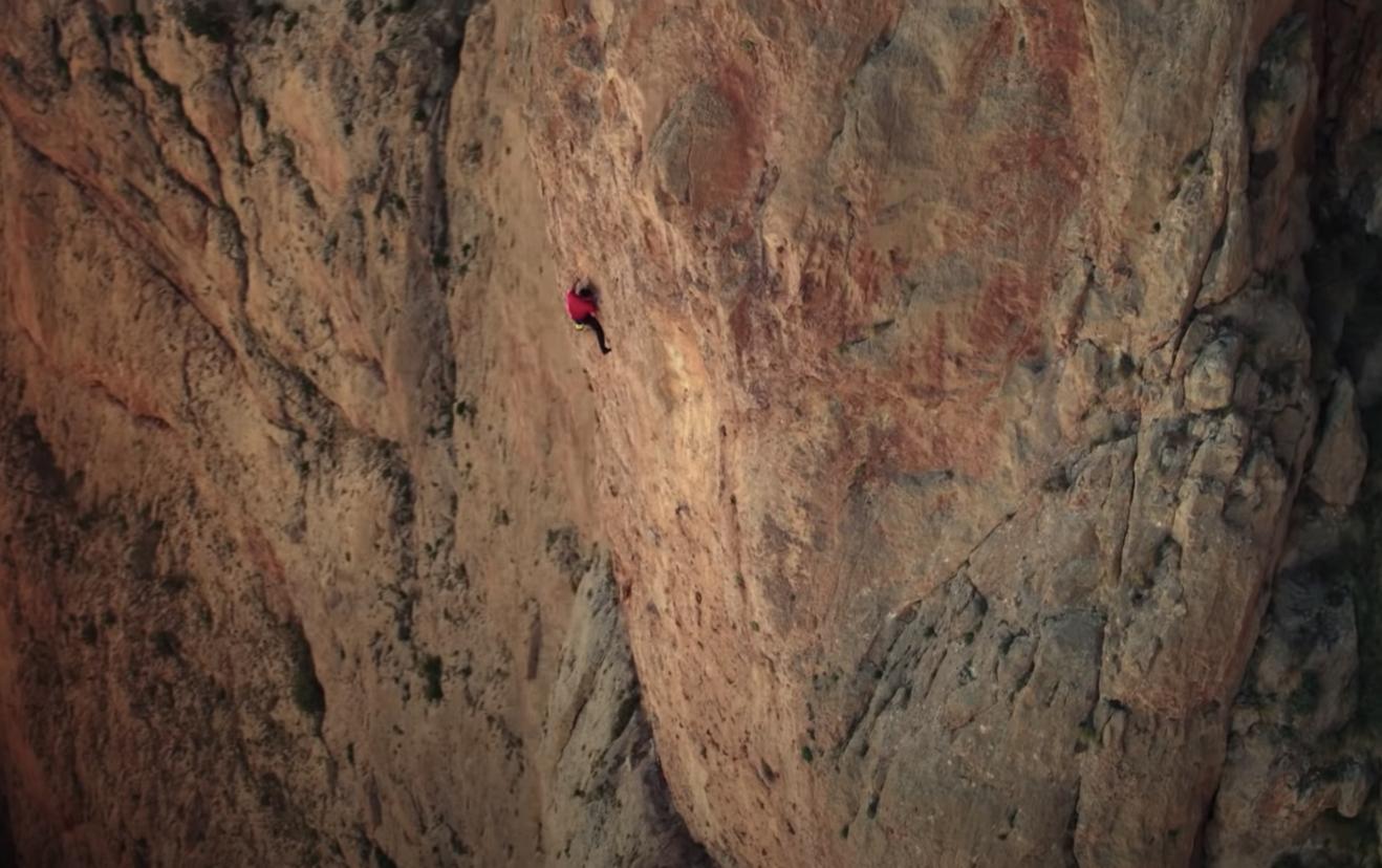 Alex climbing El Capitan