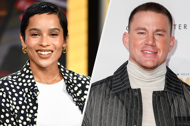 Zoë Kravitz Did Us All A Favor And Got Channing Tatum To Stop Wearing Crocs