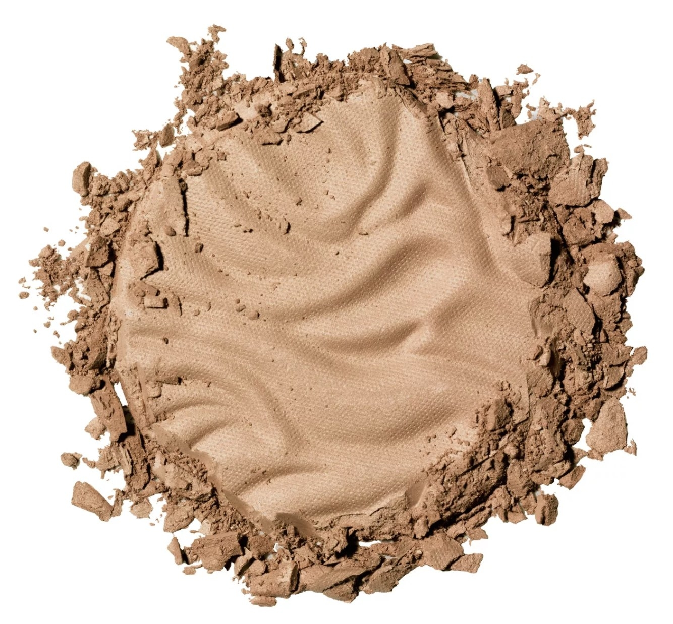 a product shot of the bronzer out of its pan