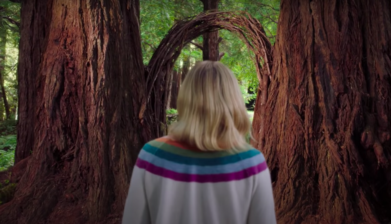 Eleanor walks into the final door in the finale