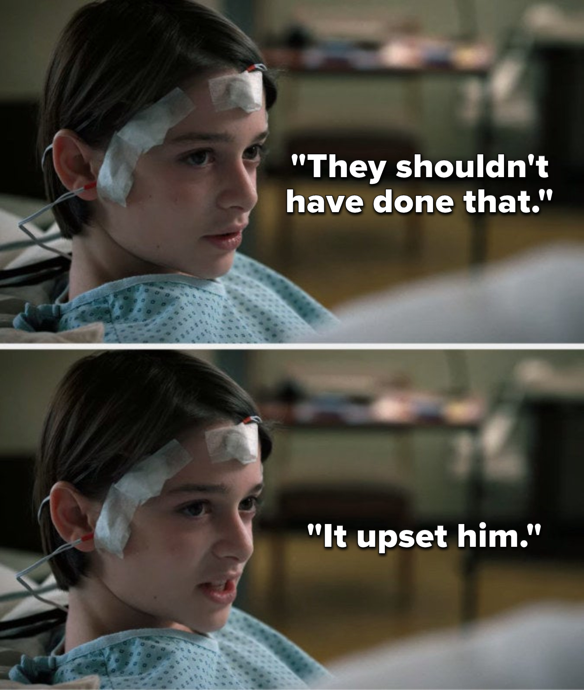 """Will from """"Stranger Things"""" says, """"They shouldn't have done that, it upset him"""""""