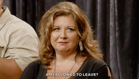 """Abby Lee Miller asking """"Am I allowed to leave"""""""