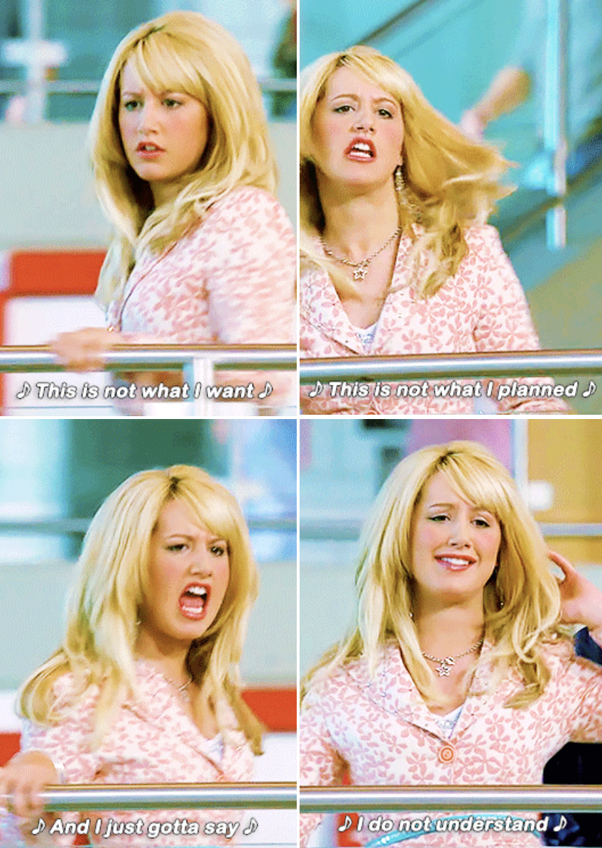 Sharpay singing in the cafeteria
