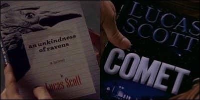 Two copies of Lucas Scott's novels