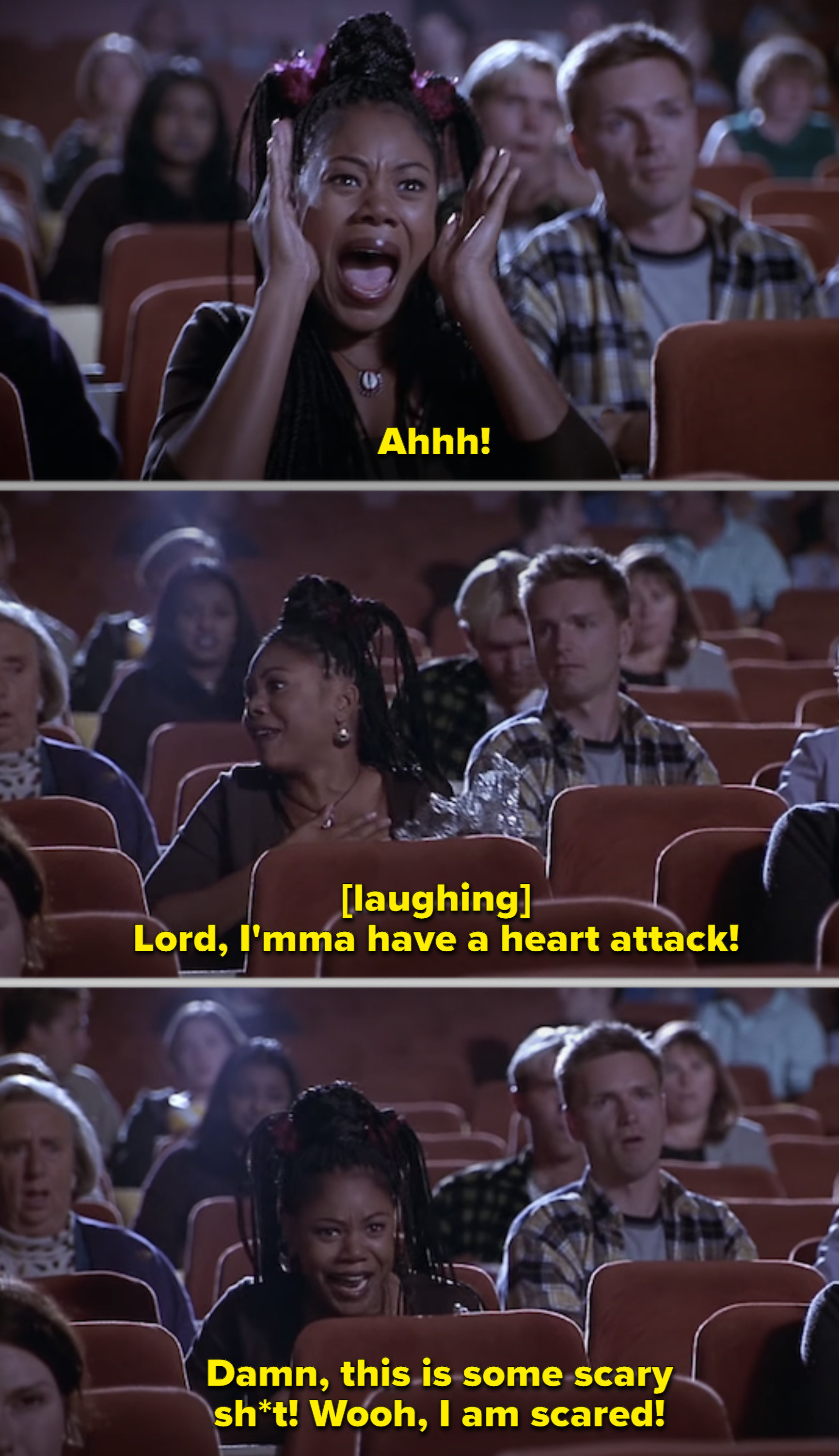Brenda Meeks from the Scary Movie series saved the entire movie, making it look 100% funnier with her perfect comedy timings.