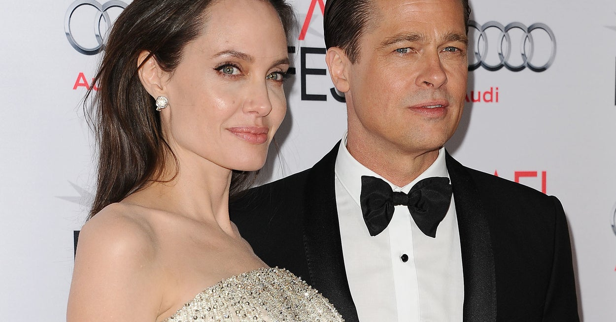 Angelina Jolie Has A Brand New Tattoo And It's Placement Seems Like It Might Have To Do With Brad Pitt