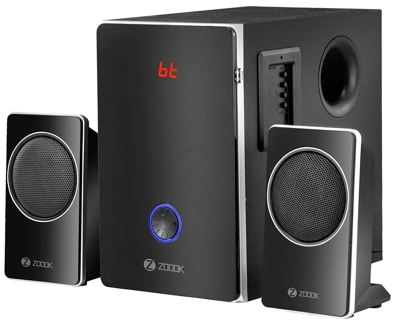 Zoook Explode 11 speakers in black.