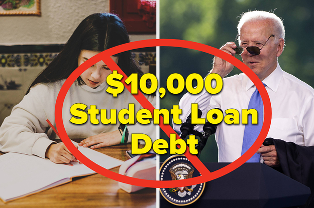 How Would Biden Canceling $10,000 In Student Loan Debt Change Your Life?