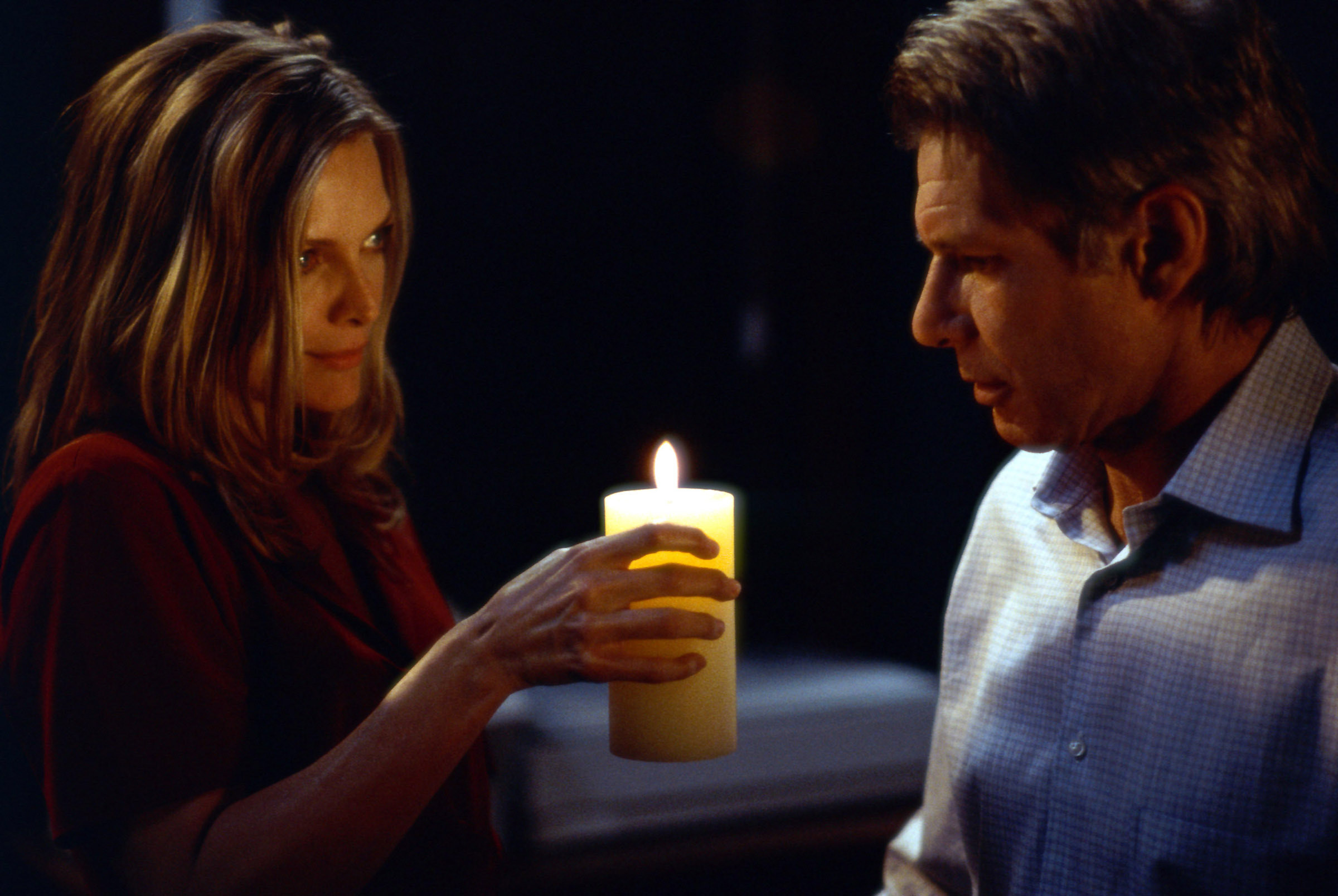 Michelle Pfeiffer holds a candle to Harrison Ford