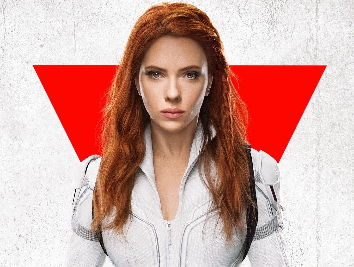 A movie poster for the new Black Widow movie