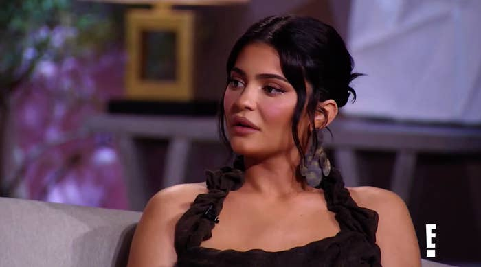 Kylie Jenner talks to Andy Cohen