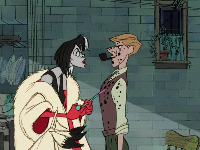 Cruella yells at Rodger