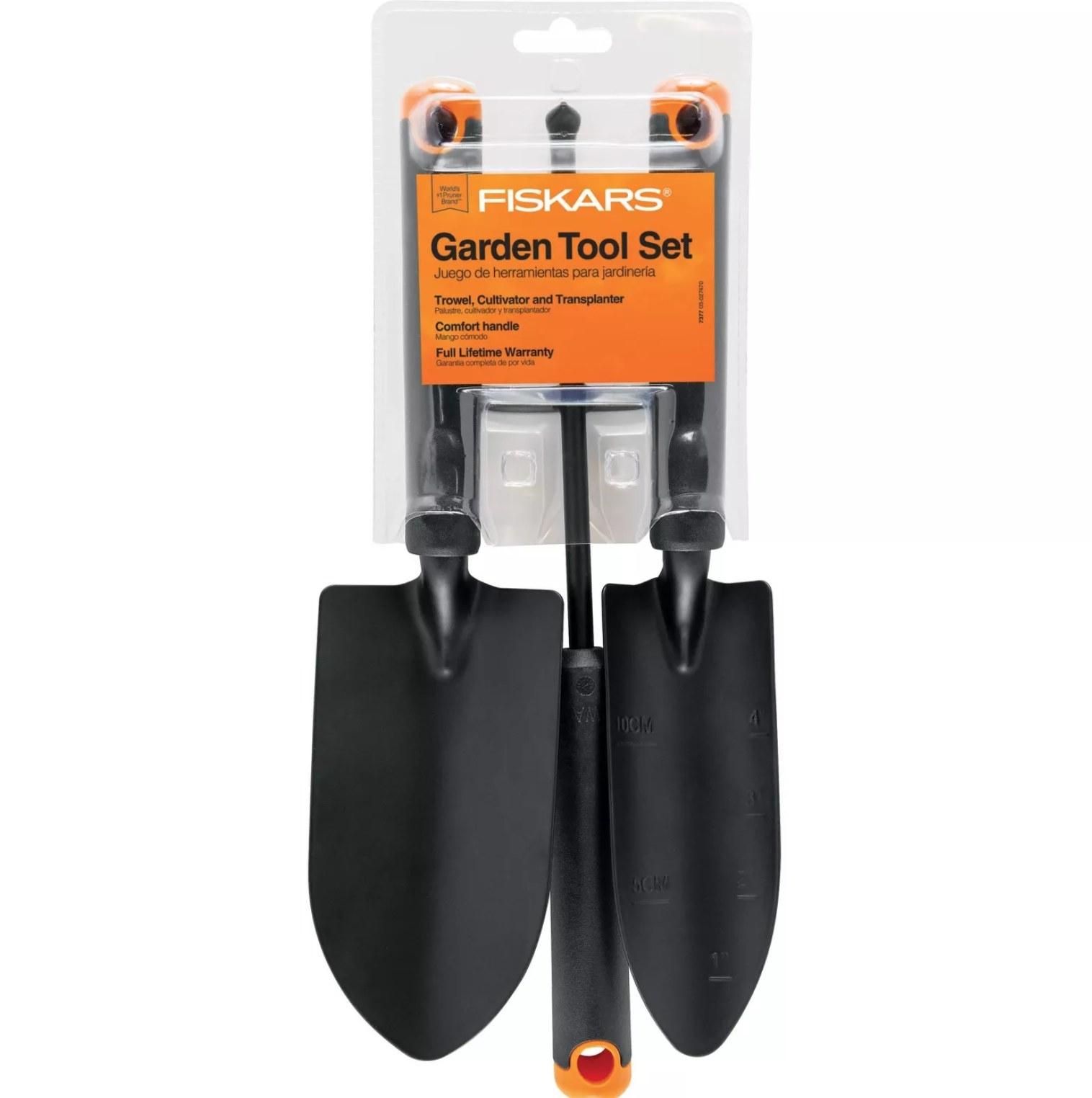 the garden tool set
