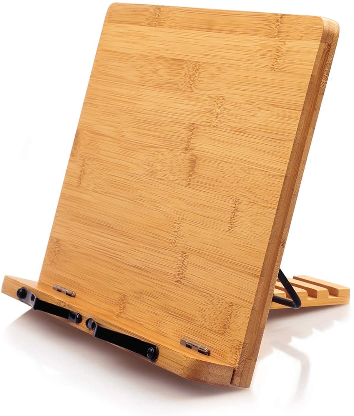 The bamboo cookbook stand