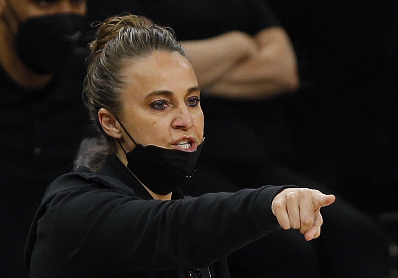 Becky Hammon pointing