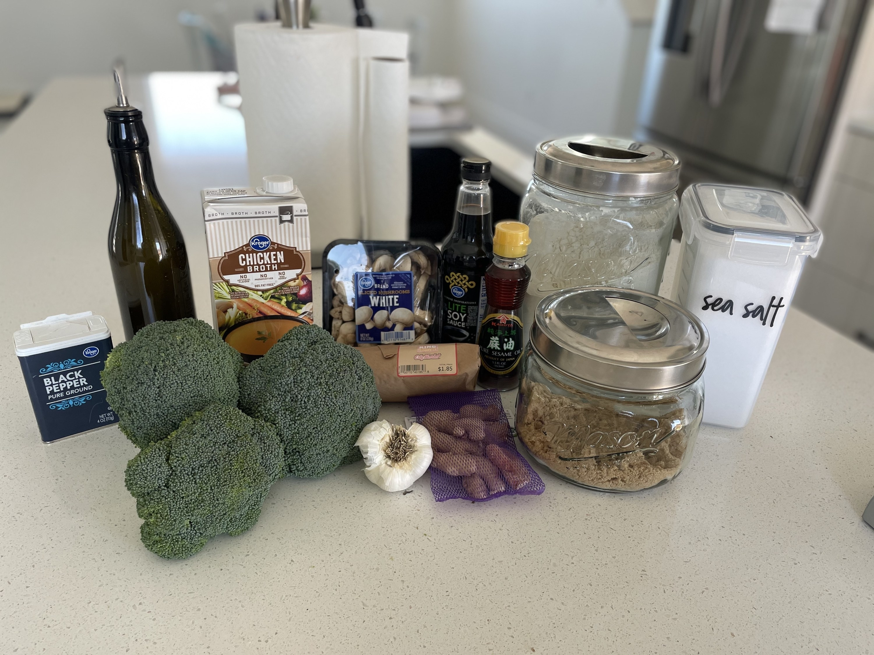 Ingredients for stirfry