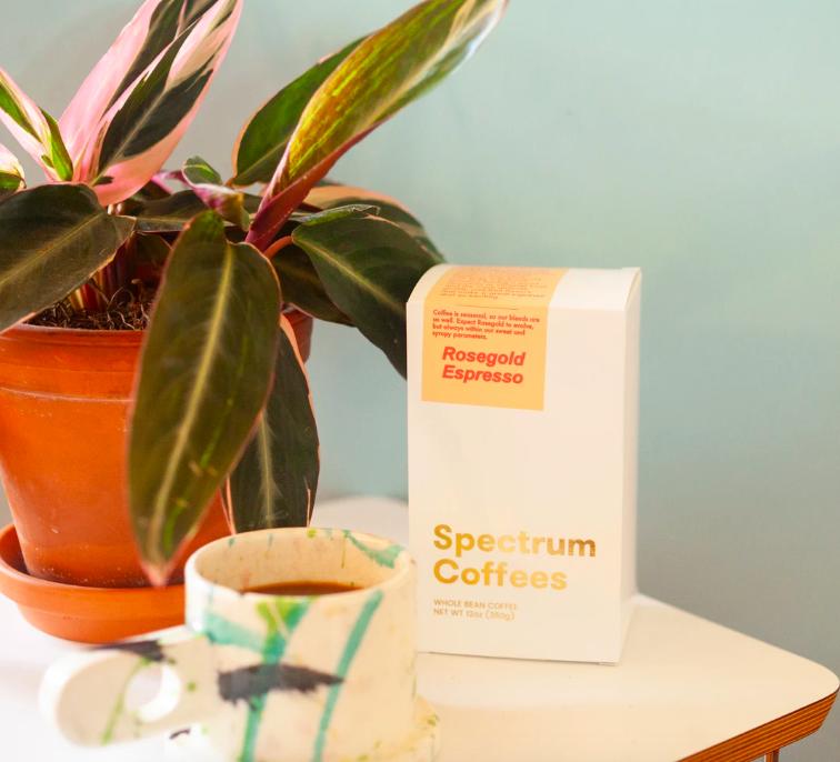 Rosegold coffee bag