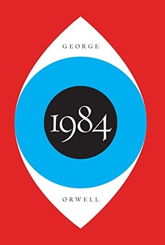 A blue eye on the cover of 1984