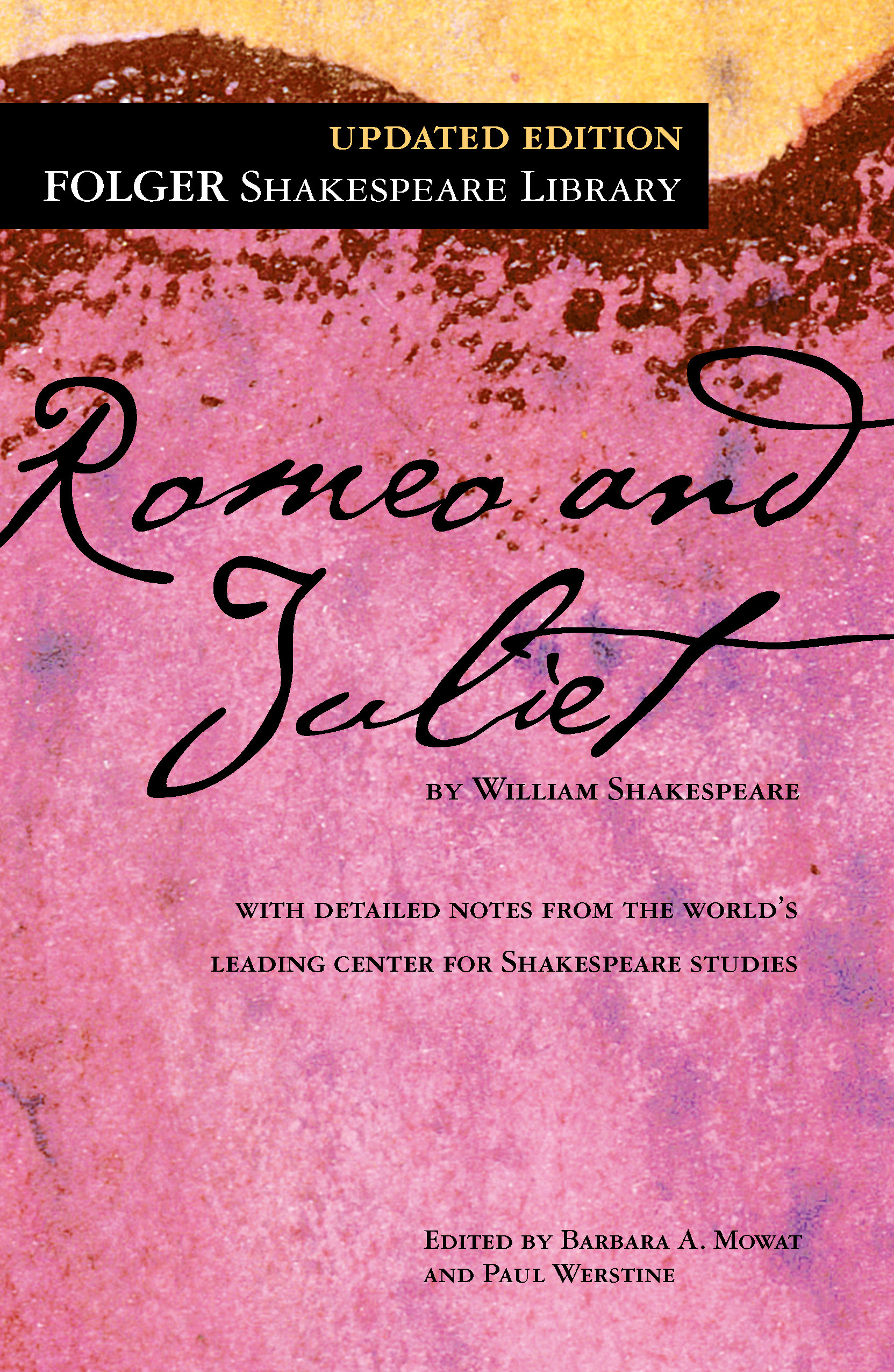 The book cover for Romeo and Juliet