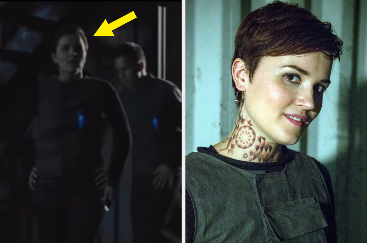 Veronica Roth in Divergent