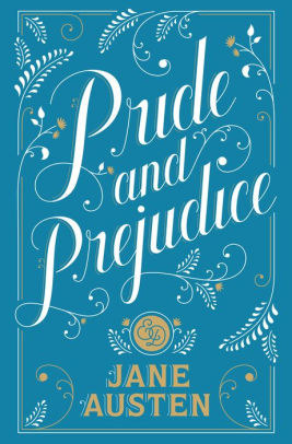 The book cover for Pride and Prejudice
