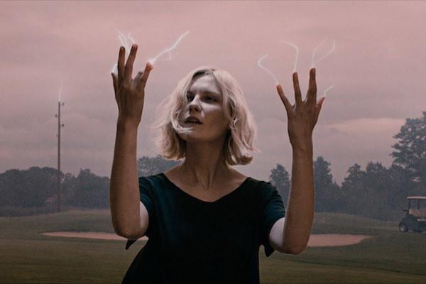 Kirsten Dunst harnessing the power of lightning
