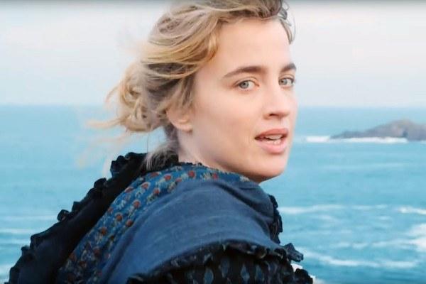 Adele Haenel looking back longingly