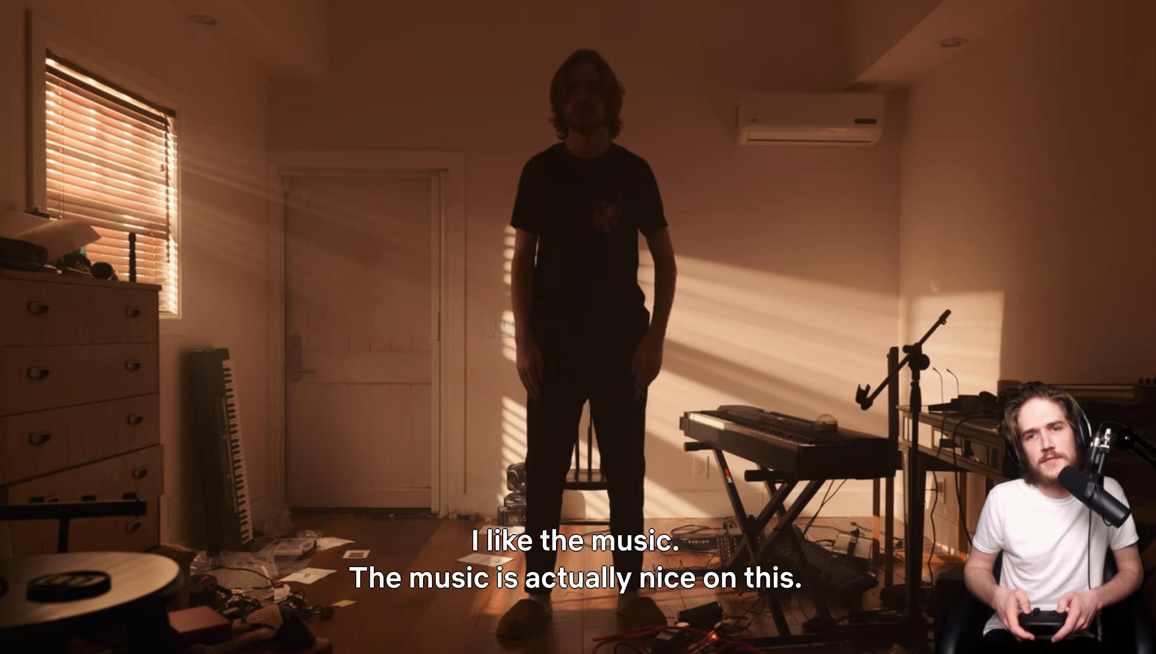 薄熙来像一条飘带说;我喜欢音乐;