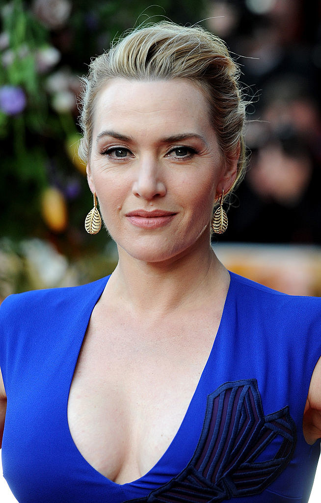 """Kate Winslet attends the UK premiere of """"A Little Chaos"""""""