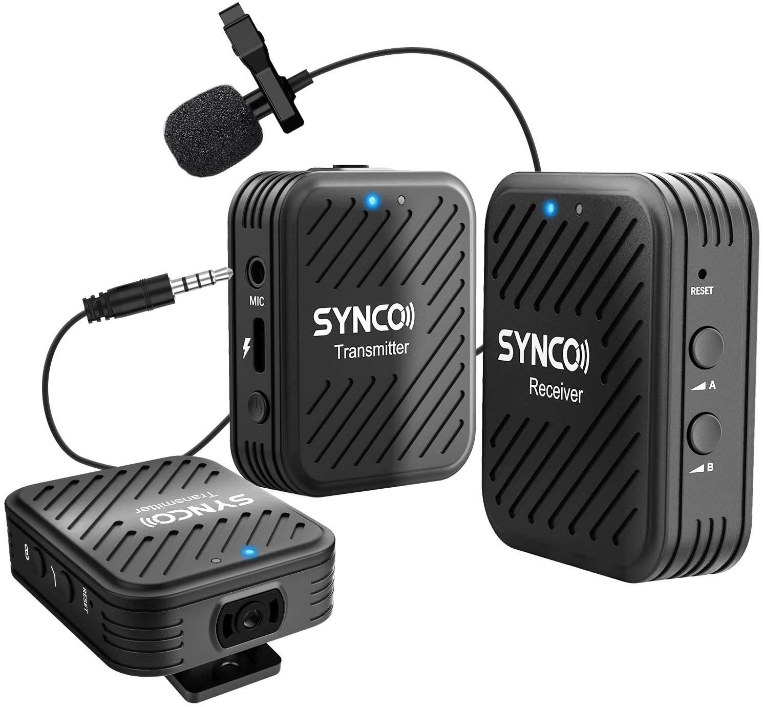 wireless clip-on microphone