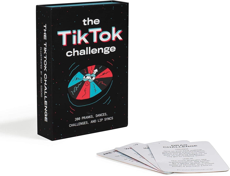tiktok challenge cards