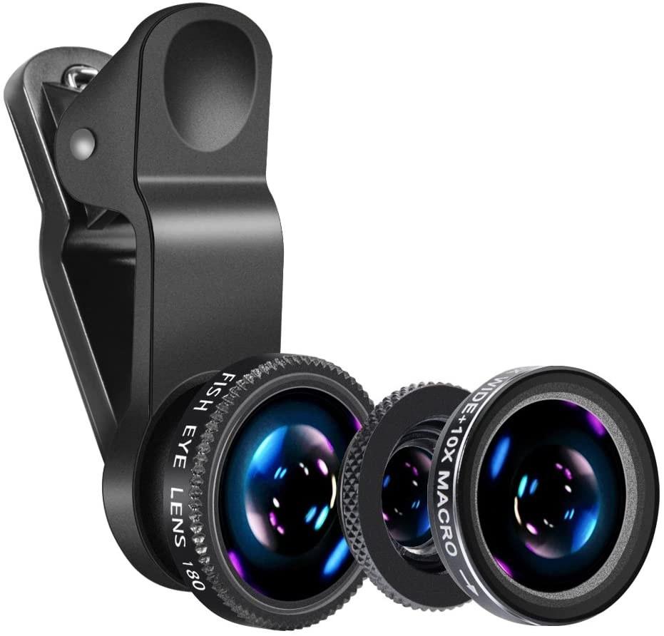 clip on lens set