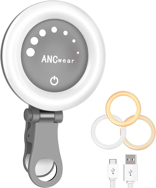 clip-on ring light