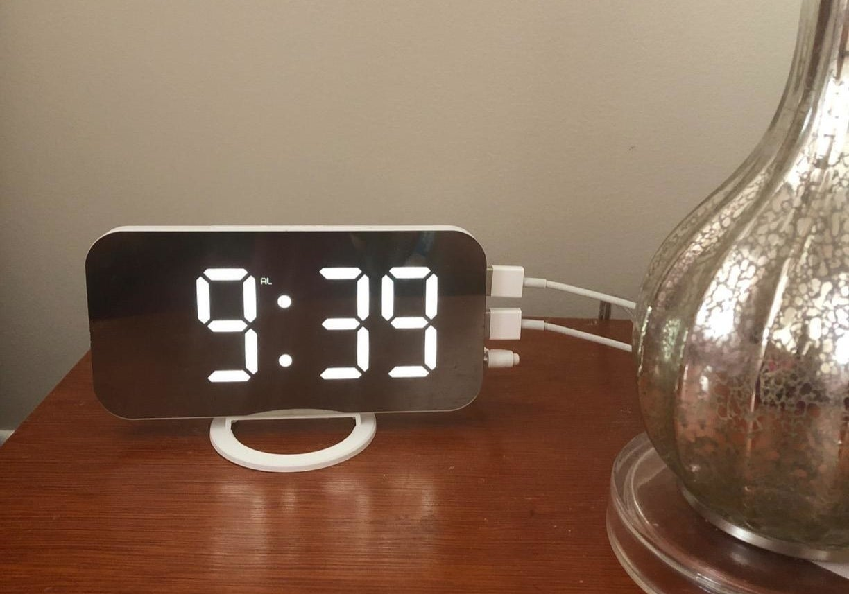 A reviewer's clock