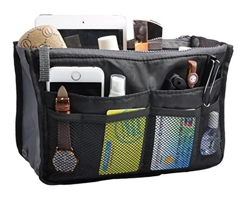 Black purse organiser