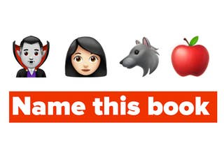 A vampire, a young woman, a wolf, and an apple