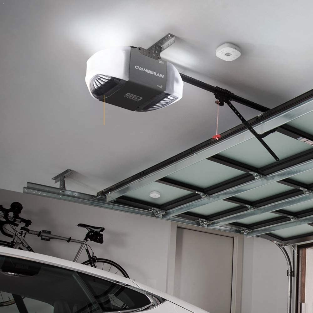 ceiling of a garage